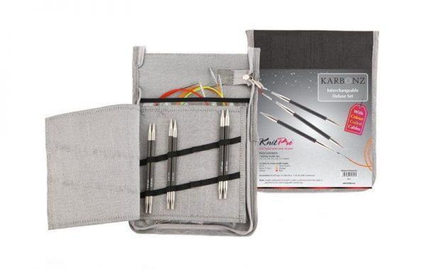 KnitPro Karbonz Deluxe