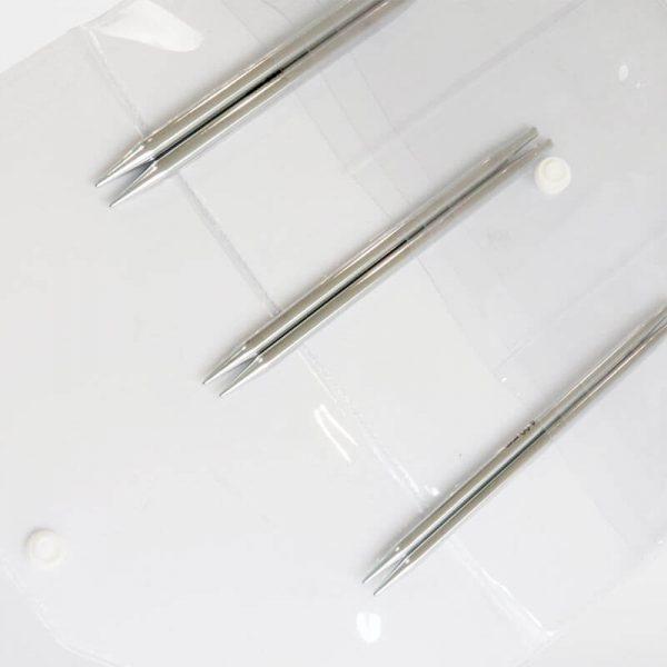 nova metal starter interchangeable circular knitting needles set5